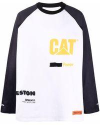 Heron Preston X Caterpillar ロングtシャツ - ホワイト