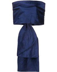Talbot Runhof - リボン ドレス - Lyst