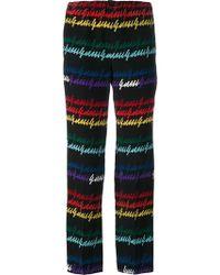 Gucci Pantaloni pigiama stampati - Multicolore
