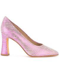 Maryam Nassir Zadeh Block Heel Pumps - Roze