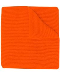Rochas - Ribbed Knit Scarf - Lyst