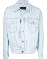11725111 Oversized Jean Jacket - Blue