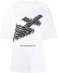 Youths in Balaclava Camiseta con estampado militar - Blanco