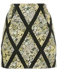Manning Cartell - Floral Mini Skirt - Lyst