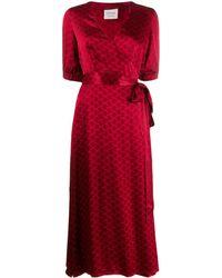 Cecilie Copenhagen Vestido Belle - Rojo