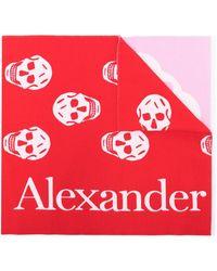 Alexander McQueen - パッチワーク スカル スカーフ - Lyst