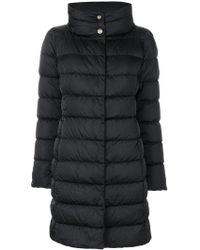 Herno - Padded Funnel Neck Coat - Lyst