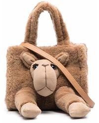 Doublet Camel Tote Bag - Brown