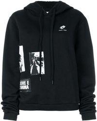 Damir Doma   Patch-work Hooded Sweatshirt   Lyst