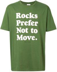 WOOD WOOD Rocks Tシャツ - グリーン