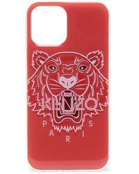 KENZO Чехол Tiger Для Iphone 12 Pro Max - Оранжевый