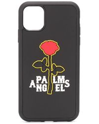 Palm Angels IPhone 11-Hülle mit Logo - Schwarz
