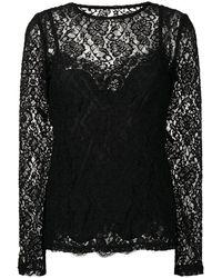 Dolce & Gabbana - Топ Из Цветочного Кружева - Lyst