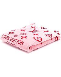 Louis Vuitton モノグラム タオル - ピンク