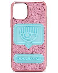 Chiara Ferragni Чехол Для Iphone 11 С Блестками - Розовый