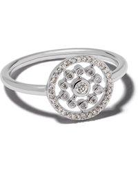 Astley Clarke Icon Nova ダイヤモンドリング 14kホワイトゴールド - マルチカラー