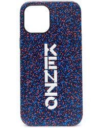KENZO Чехол Для Iphone 12 Pro Max - Синий
