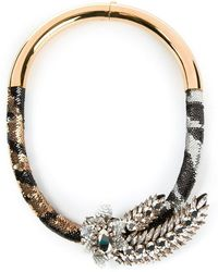 Shourouk | 'tiger Comet' Necklace | Lyst