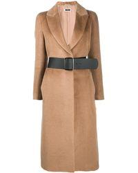 Peserico シングルコート - ブラウン