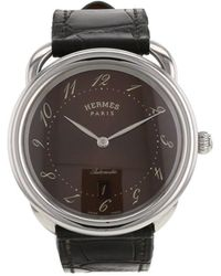 Hermès 2010s プレオウンド アルソー 41mm - ブラウン