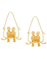 Givenchy - Couple Earring - Lyst