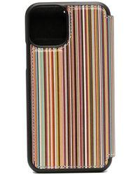 Paul Smith IPhone 11 Pro-Hülle mit Streifen - Blau