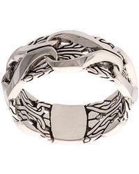 John Hardy - Silver Classic Chain Ring - Lyst