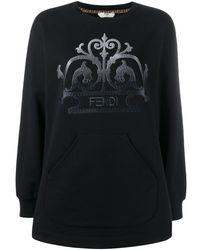 Fendi Ff ロゴ セーター - ブラック
