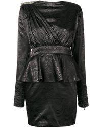Dodo Bar Or Sash Detail Mini Dress - ブラック