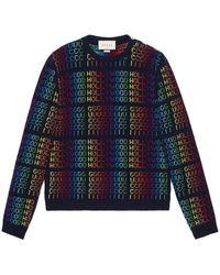 "Gucci - Rainbow "" Hollywood"" sweater - Lyst"