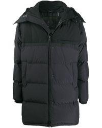 Moose Knuckles コントラストパネル パデッドコート - ブラック