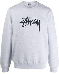Stussy - ロゴ セーター - Lyst