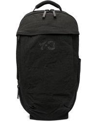Y-3 ロゴ バックパック - ブラック