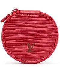 Louis Vuitton Шкатулка Для Украшений Épi Ecrin Bijou Pre-owned - Красный