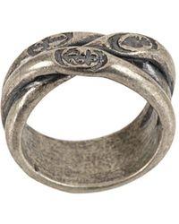 Tobias Wistisen Gedraaide Ring - Metallic