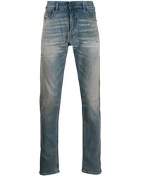DIESEL Tepphar Slim Fit Jeans - Blue