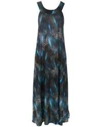 Lygia & Nanny Printed Manati Dress - Blue