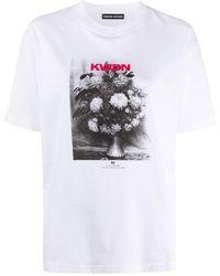 Kwaidan Editions プリント Tシャツ - ホワイト