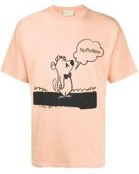 Aries Stoner Bear Tシャツ - オレンジ
