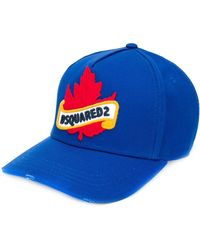 DSquared² Pet Met Logopatch - Blauw