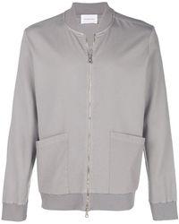 Low Brand - Zipped Cardigan - Lyst