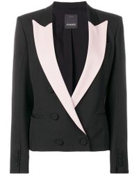 Pinko - Double-breasted Blazer - Lyst