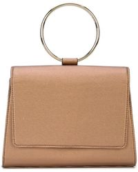 Christian Siriano Bracelet Top Handle Tote - Brown