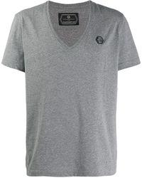 Philipp Plein - Vネック Tシャツ - Lyst