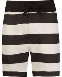 Osklen Striped Shorts - Черный