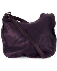 Guidi Zipped Shoulder Bag - Pink