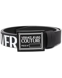 Versace Jeans Couture Ремень С Логотипом - Черный