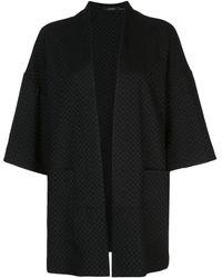 Natori オーバーサイズ ジャケット - ブラック