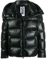 DROMe パデッドジャケット - ブラック