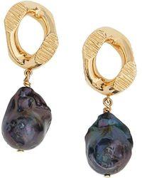 Burberry Faux-pearl Drop Earrings - Multicolour